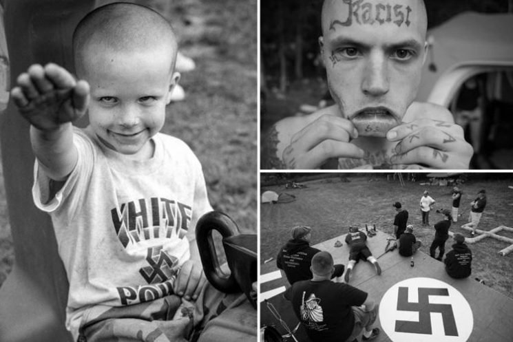 Disturbing images inside America's White Nationalist Movement by photographer who spent 11 years documenting white supremacists