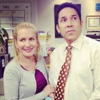 The Office's Angela and Oscar Recreate Show's Fire Drill Scene