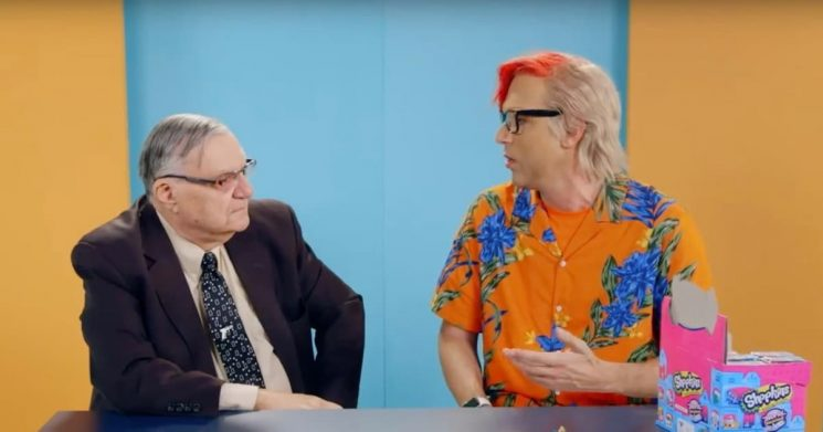 How Sacha Baron Cohen's New 'Who Is America?' Character Duped Joe Arpaio Into Saying He'd Accept 'Blow Job' From Trump