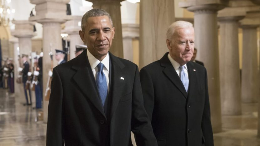 Barack Obama & Joe Biden Had Lunch Together, & Here's What They Ate