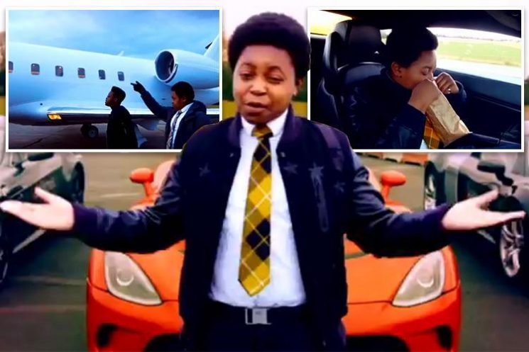 'Chicken Connoisseur' YouTube star not impressed by superyacht and £925 kebab as he tastes luxury lifestyle in new TV show