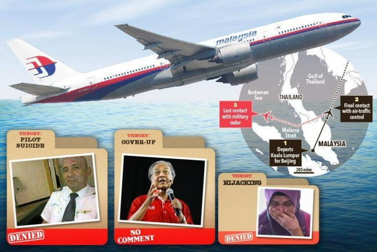 From pilot suicide to cover-up — here are seven theories behind the disappearance of flight MH370