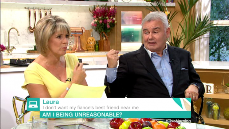 This Morning's Eamonn Holmes reveals he'd punch someone if they made a move on wife Ruth Langsford