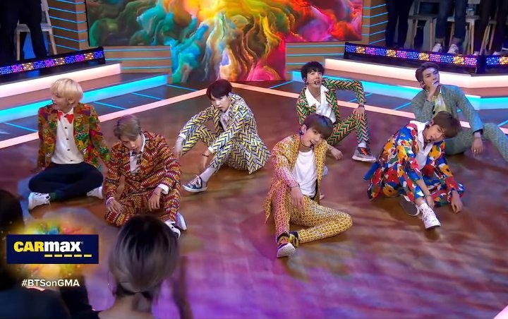 BTS Wows Audience on 'Good Morning America' With 'IDOL' Performance