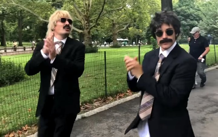 Justin Bieber and Jimmy Fallon Going Incognito at Central Park for Prank Video