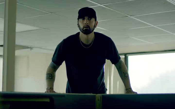 Eminem Hits Back at 'Revival' Critics in 'Fall' Music Video