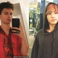 Ansel Elgort Shows How Big He's a Fan of BTS' V by Doing This