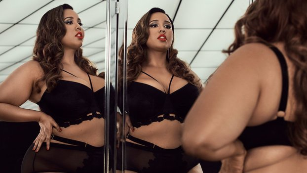 This New Plus-Size Lingerie Collection Is Hot AF