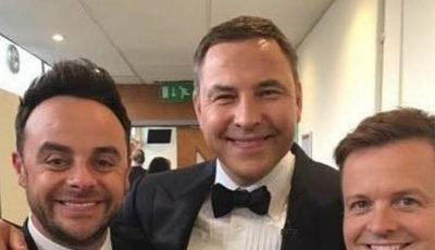 Ant McPartlin returns to social media after David Walliams mocks presenter