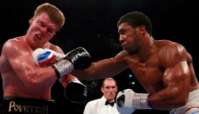 Anthony Joshua tells how critics inspired his knockout of Alexander Povetkin