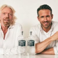Ryan Reynolds and Richard Branson are teaming gin with travel and we love it