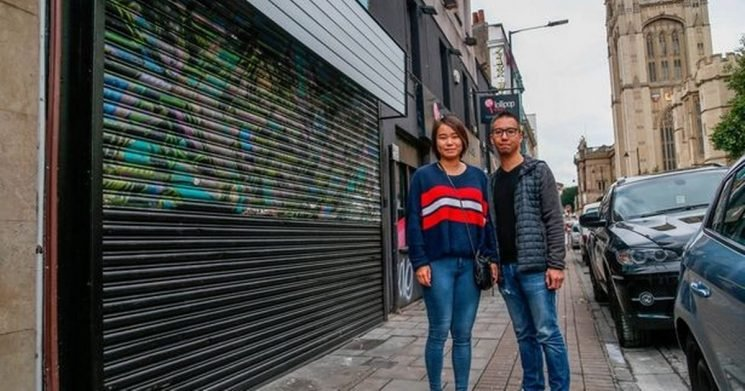 Tea shop owners had 'no idea' they were painting over a Banksy mural