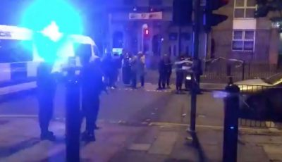 Man and woman injured after drive-by shooting in Islington