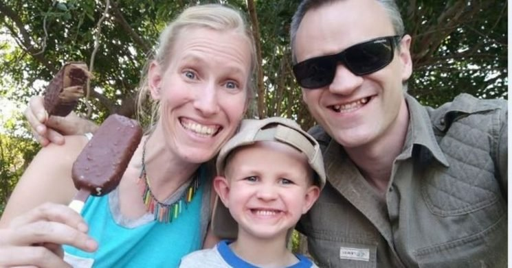 British scientist praying son isn't brain damaged after horror giraffe attack