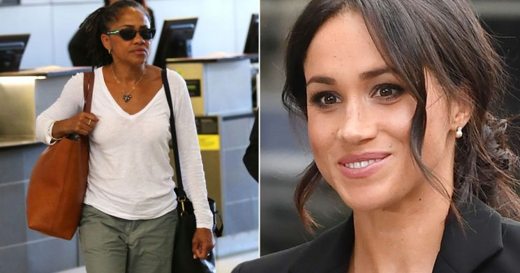 Meghan Markle's mum spotted at airport as duchess prepares for first solo event
