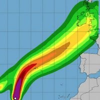 Fears two hurricanes in Atlantic will merge and batter United Kingdom