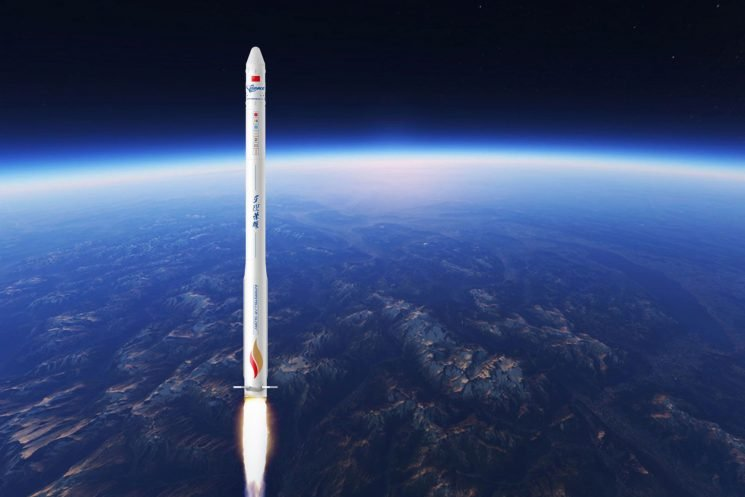 Private Chinese space company places satellites in orbit