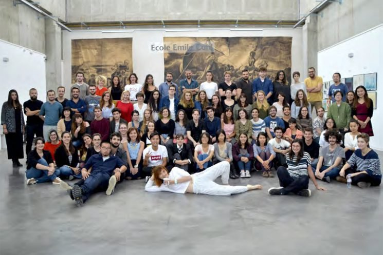 Art school doctored ad to make white students look black