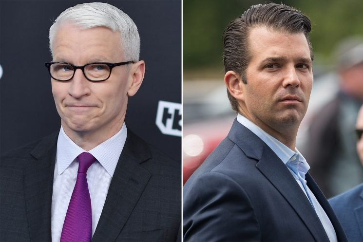 Anderson Cooper debunks Trump Jr.'s fake hurricane coverage claim