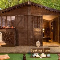 You could stay in this cottage made entirely of chocolate