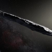 Astronomers discover origin of mysterious cigar-shaped space rock