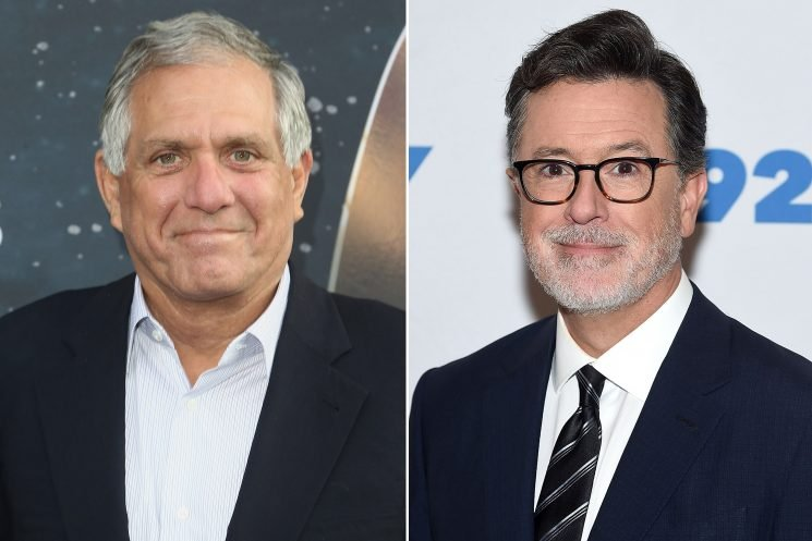 Colbert calls Moonves sex abuse claims 'extremely disturbing'