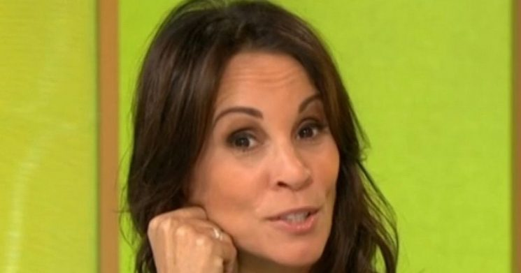 Andrea McLean admits she took a long nap in a very inappropriate place
