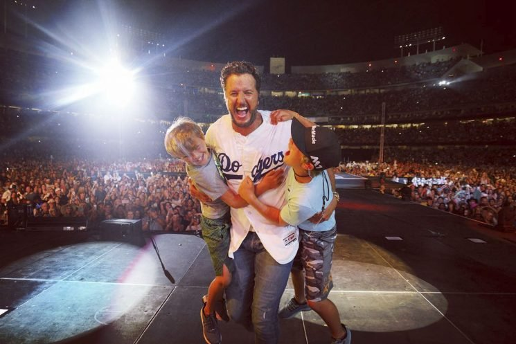 Luke Bryan Is Proud of His Sons for Their 'Manners' and Being 'Gentlemanly Boys'