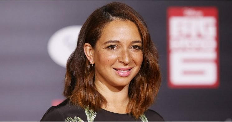 Maya Rudolph Gets Real About Growing Up With A Dad Who Couldn't Do Her Hair