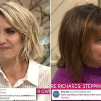 Lorraine Kelly slammed for asking Claire Richards about her fertility