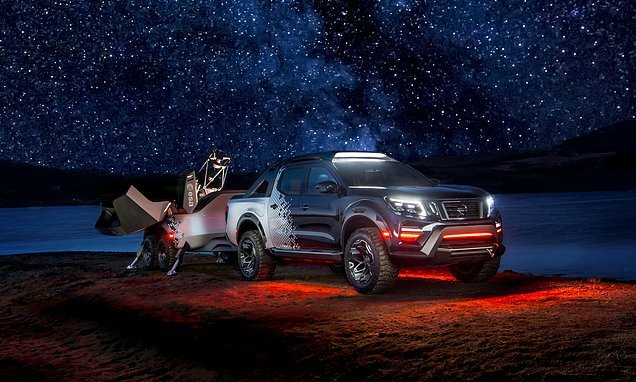Nissan transforms a pick-up truck into a mobile SPACE OBSERVATORY