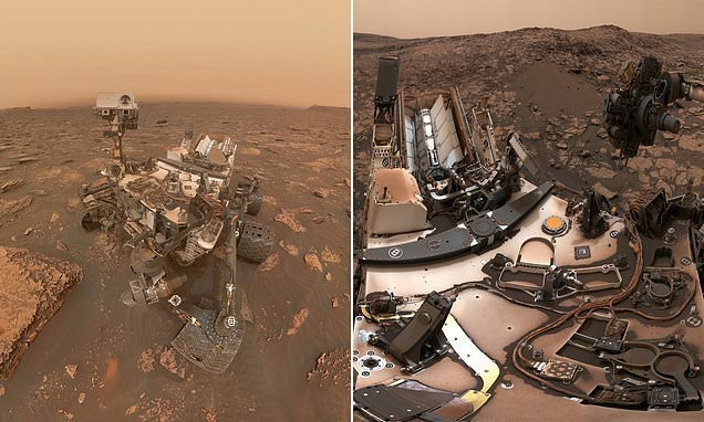 Curiosity Mars rover halts ALL science operations due to glitch