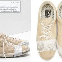 Luxury fashion brand Golden Goose is accused of 'glorifying poverty'