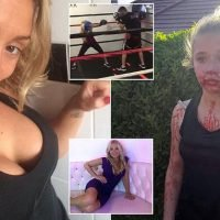 Boxer mum who beat girl, 11, claims she was defending her daughter