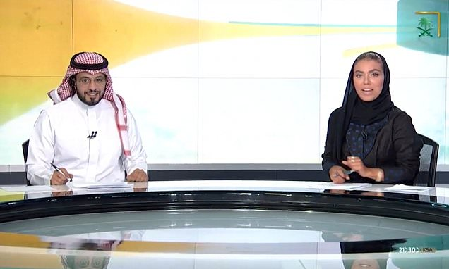 Journalist becomes first woman to anchor national news in Saudi Arabia