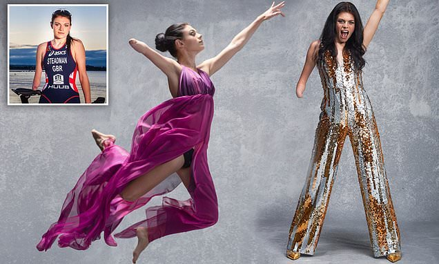 Strictly's Lauren Steadman debuts as first female disabled contestant
