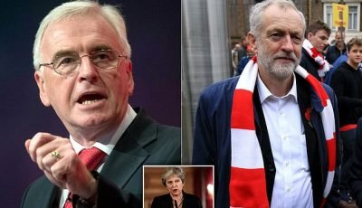 John McDonnell says Labour will resist demands for second Brexit vote