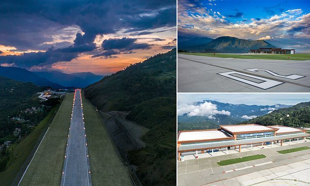 Is this the world's most picturesque airport?