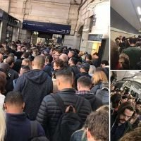 Victoria station evacuated as commuters become 'trapped on platforms'