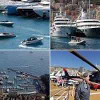 Billionaires and their million-pound toys descend on Monaco yacht show