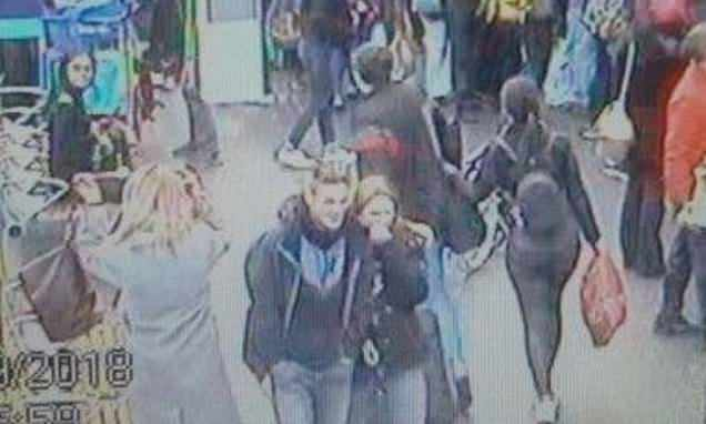 New CCTV of missing schoolgirl, 15, shows her 250 miles from home