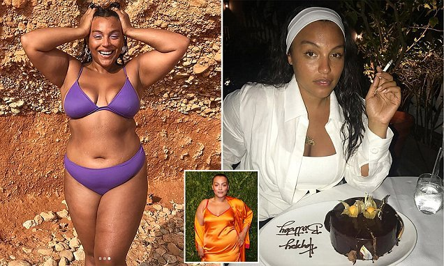 Plus-size model slams trolls who pretend to worry for her health