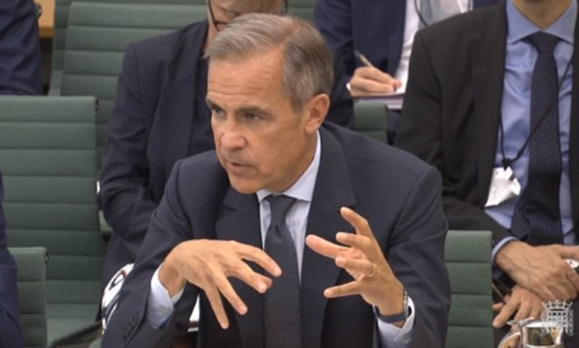 Mark Carney WILL stay on longer as Bank of England Governor