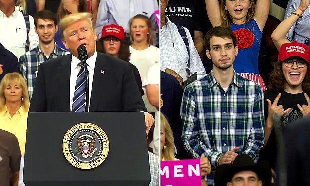 Teen kicked out of Trump rally over his facial expressions speaks out