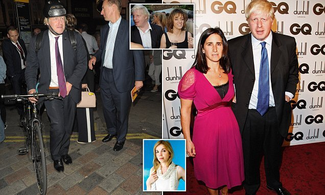 Boris 'took blonde aide for Valentine's Day date at posh restaurant'