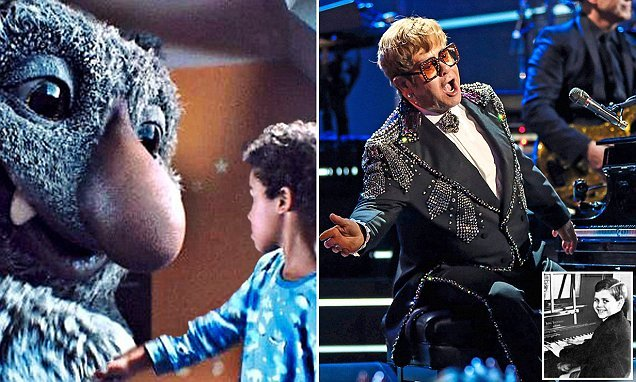 Elton earns £5million for one-off appearance in John Lewis advert
