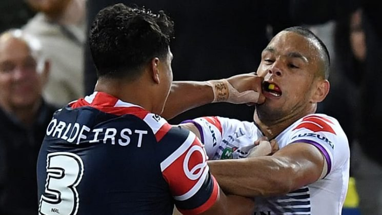 Good Will Chambers hunted by Latrell Mitchell … again