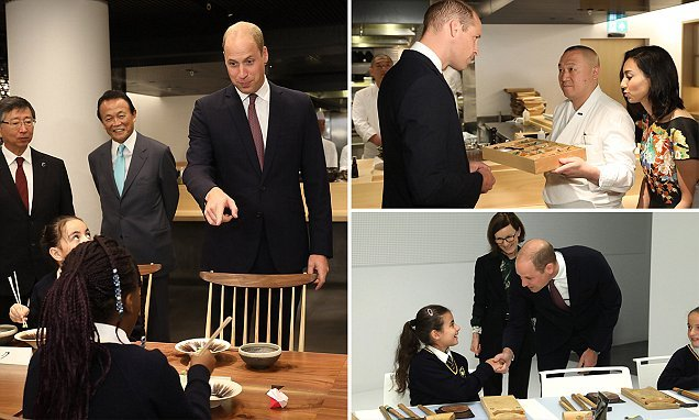 Prince William attends the opening of Japan House in London