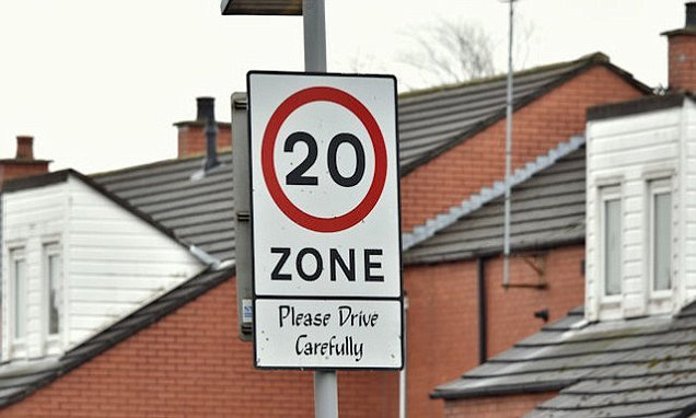 Councils 'waste money' on 20mph zones that cause MORE road accidents