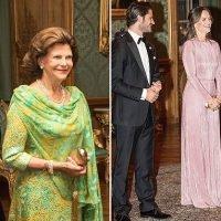 Swedish royal family host gala dinner atStockholm Palace